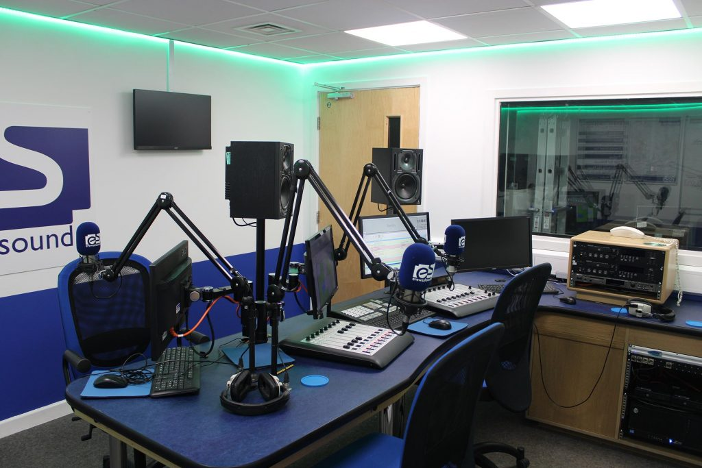 The Erewash Sound training studio